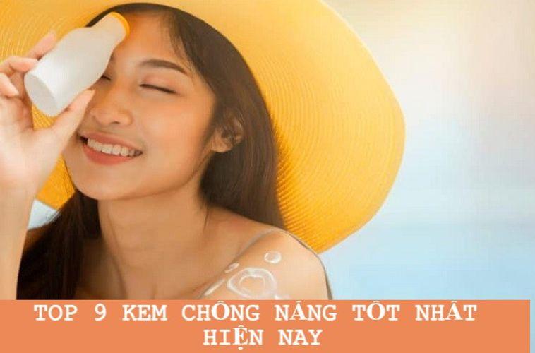 TOP 9 kem chống nắng body tốt nhất hiện nay giúp bảo vệ da tối ưu