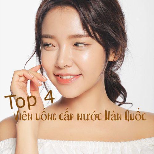 Top 4 viên uống cấp nước Hàn Quốc cấp ẩm, đẹp da yêu thích nhất 2021