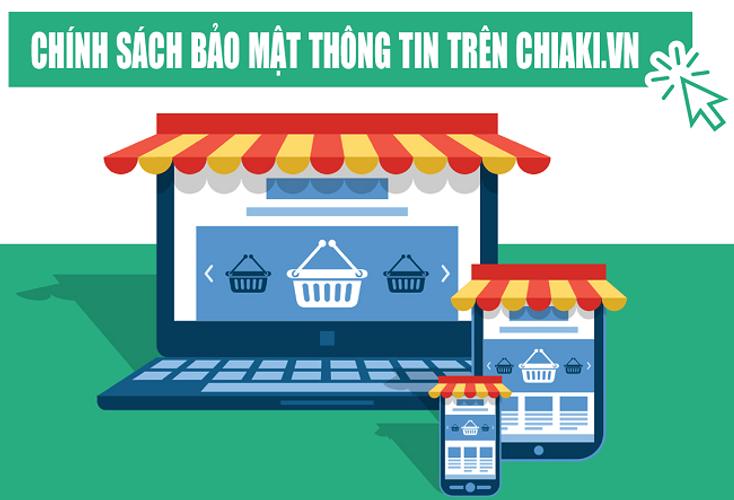 Chính sách bảo mật thông tin trên Chiaki.vn