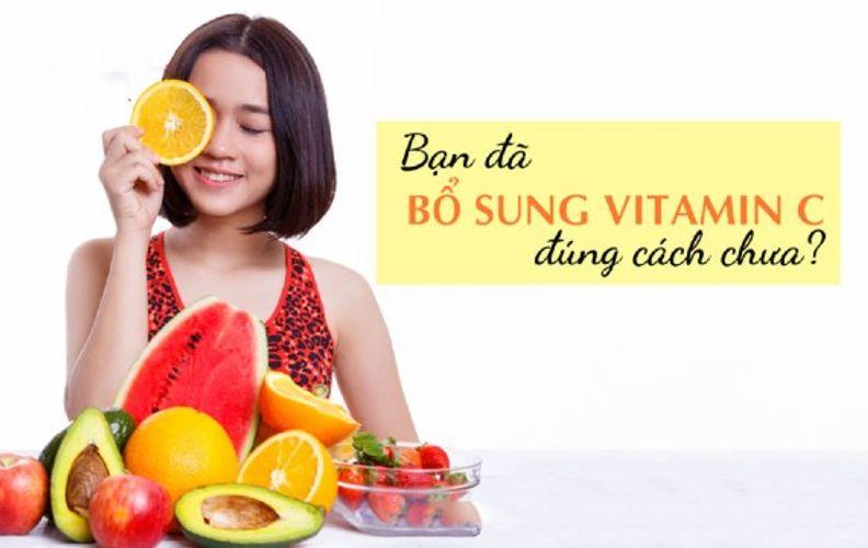 Uống vitamin C mỗi ngày có tốt không? Liều dùng và thời điểm sử dụng