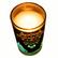 Ly Nến Thơm Đổi Màu Golden Dragon 140g QT028407 Cam, Quế,hồi