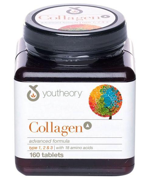 Viên Uống Collagen Youtheory 1,2&3 Loại 160 Viên