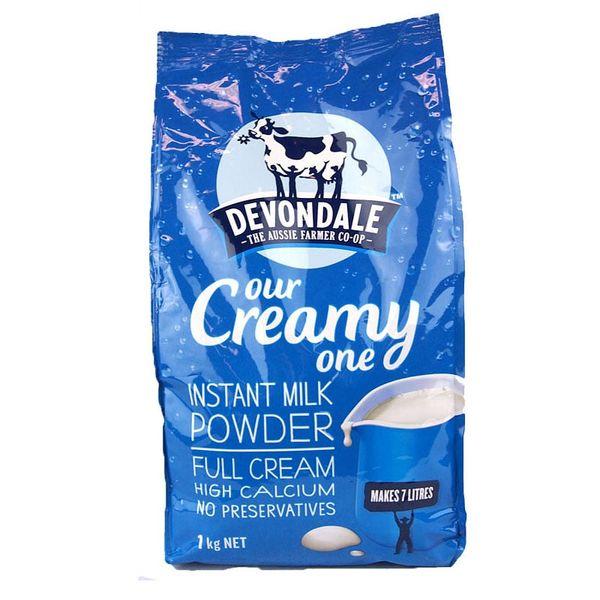 Sữa Tươi Nguyên Kem Dạng Bột Devondale Chính Hãng Úc
