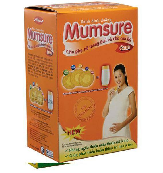 Bánh Mumsure Cho Bà Bầu 165g