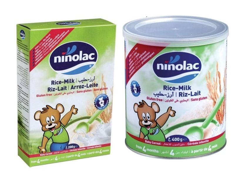 Bột Ăn Dặm Ninolac Cho Trẻ Trên 4 Tháng Tuổi