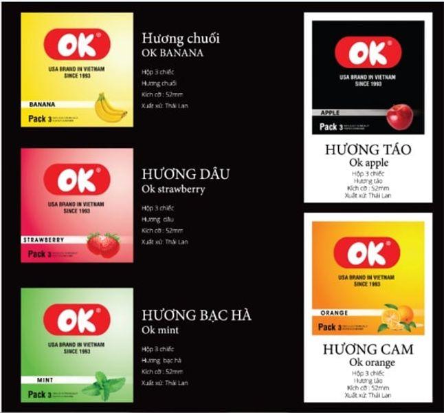 Bao Cao Su OK – Combo 10 Hộp (30 Cái)