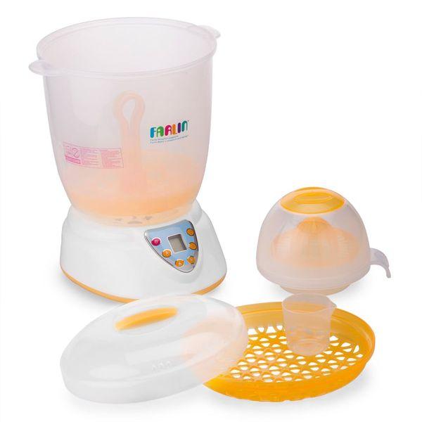 Máy Tiệt Trùng Bình Sữa Farlin TOP-214 4 Chức Năng Riêng Biệt