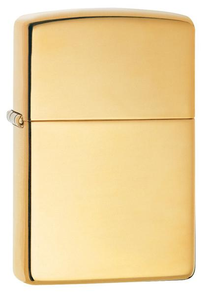 Bật Lửa Zippo 254B High Polish Brass Pocket Lighter
