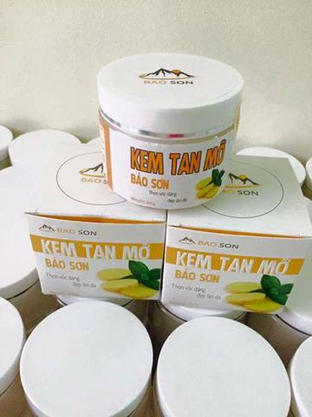 Kem Tan Mỡ Bụng Bảo Sơn