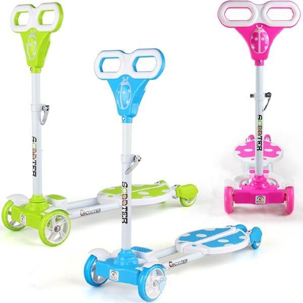 Xe Trượt Scooter 2 Bàn Đứng Hình Bọ Rùa