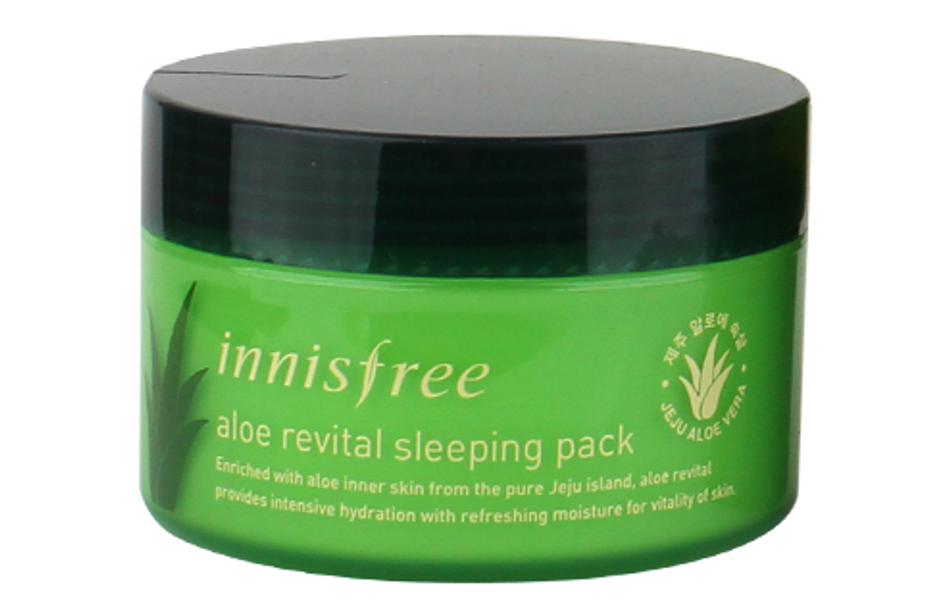 Mặt Nạ Ngủ Lô Hội Innisfree Aloe Revital Sleeping Pack