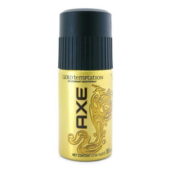 Xịt Khử Mùi Axe Gold Temptation 150ml Loại Mới