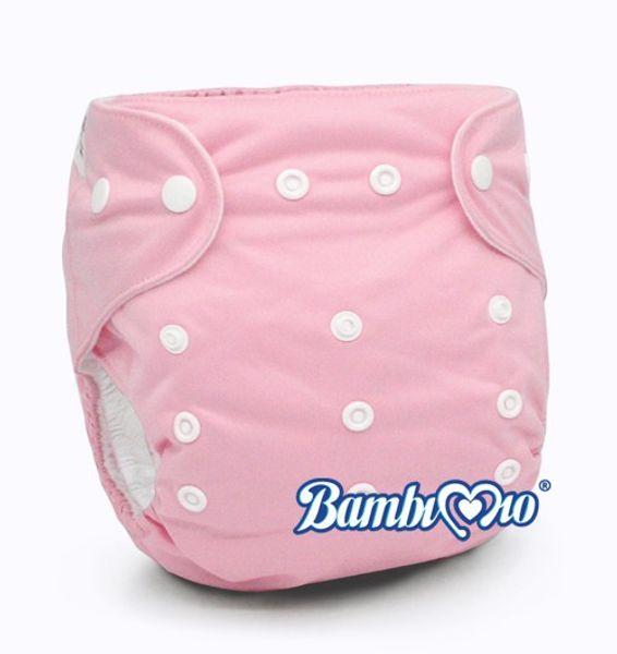 Tã Vải Bambi Mio Rose-TGR Ban Ngày (2-4h) Cho Bé 3-12kg