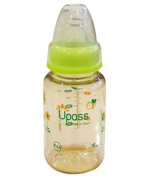Bình Sữa Upass UP02401CL 120ml Núm Silicone Chống Sặc
