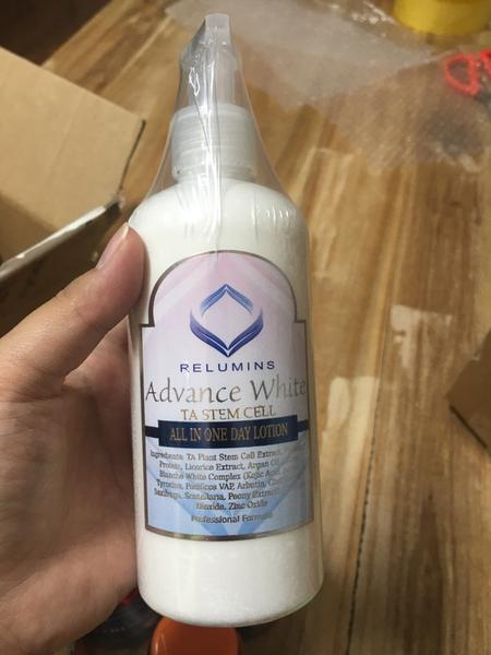 Dưỡng Thể Trắng Da Relumins Advance White All In One Day