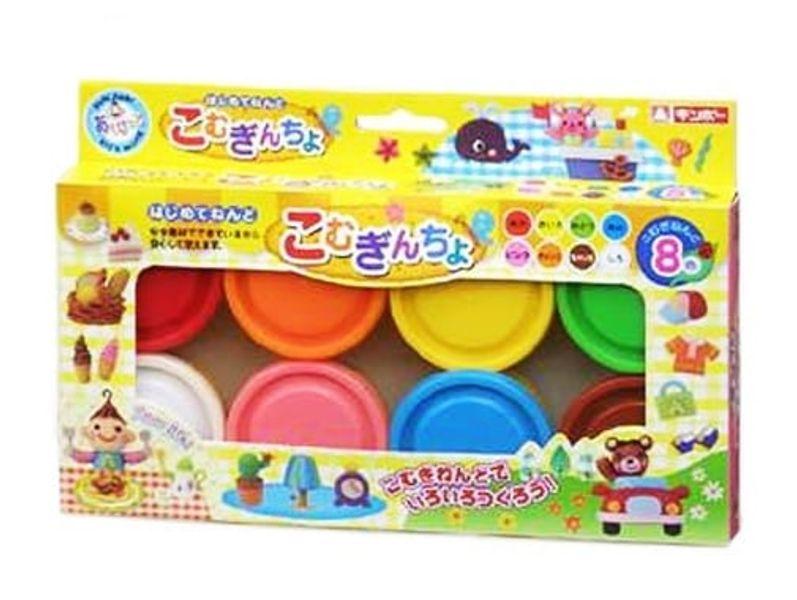Bộ Đất Nặn Nhật Bản 8 Màu JPG0004