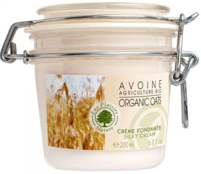 Kem Dưỡng Ẩm Yves Rocher Organic Oats Silky Toàn Thân