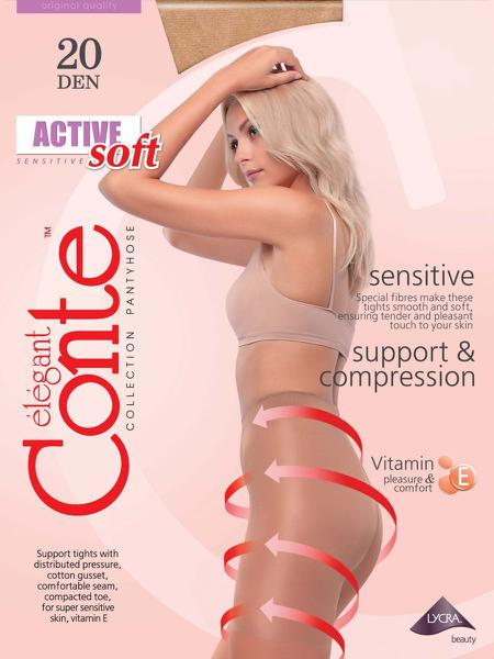 Quần Tất Nga Elegant Conte Active Soft 20
