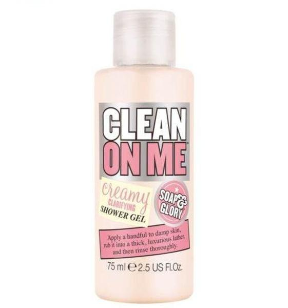 Sữa Tắm Soap And Glory Clean On Me 75ml Làm Mềm Mịn Da