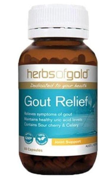 Viên Uống Hỗ Trợ Điều Trị Gút - Gout Relief Của Úc 60 Viên
