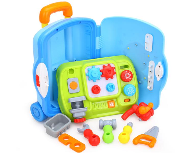Bộ Đồ Chơi Vali Dụng Cụ Cơ Khí Huile Toys HL.3106