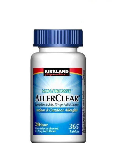 Viên Hỗ Trợ Chống Dị Ứng Kirkland  AllerClear 365 Viên