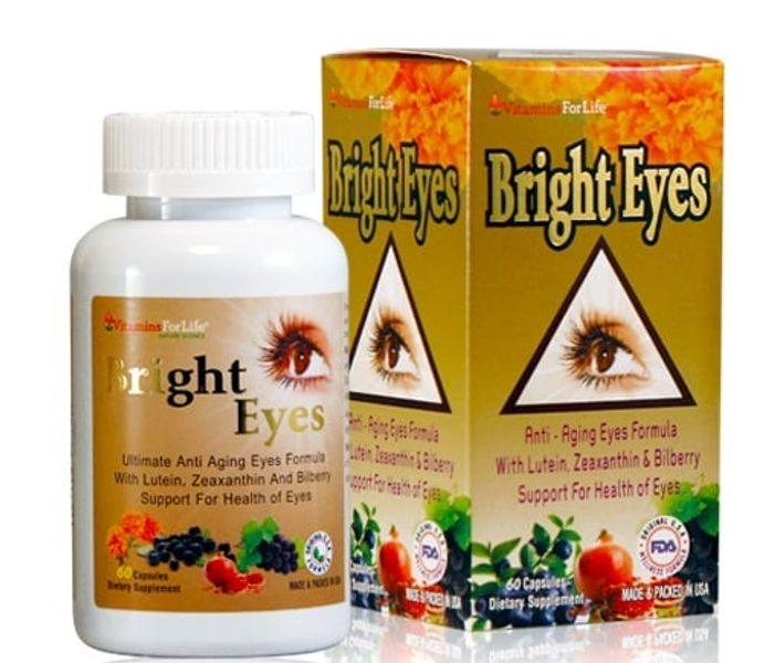Viên Uống Bổ Mắt Sáng Mắt Bright Eyes Của Mỹ