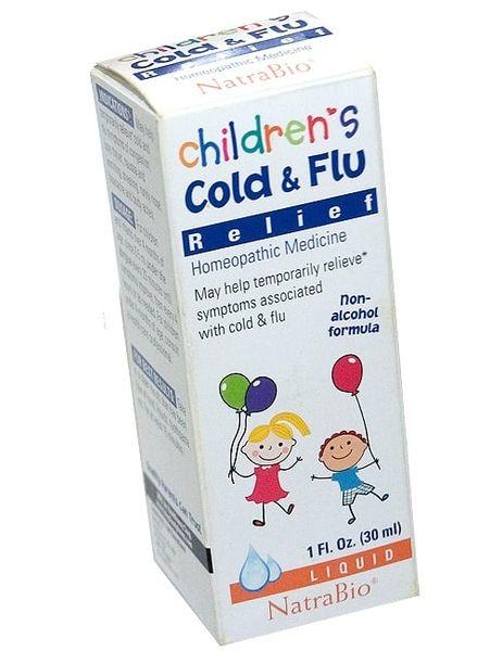 Siro Children's Cold & Flu Relief Cho Bé Trên 4 Tháng