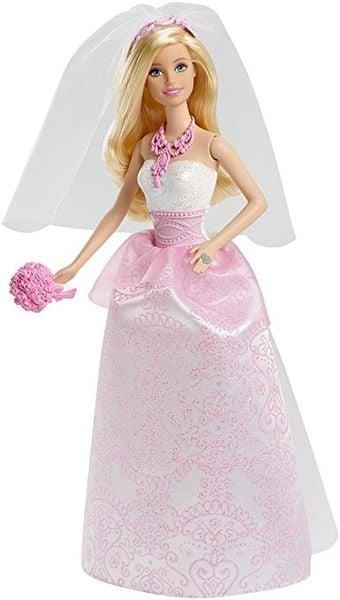 Búp Bê Barbie Cô Dâu CFF37