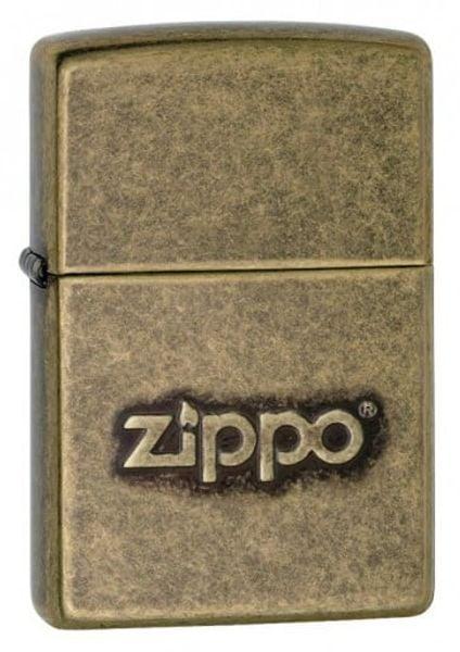 Bật Lửa Zippo 28994 Stamped Logo Antique Brass