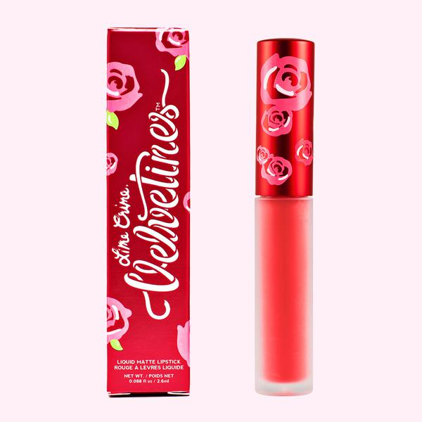 Son Lime Crime Velvetines – Suedeberry Màu Cam Thuần