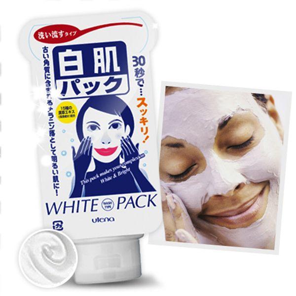 Mặt Nạ Trắng Da Utena White Pack Ngọc Trai Và Thảo Dược