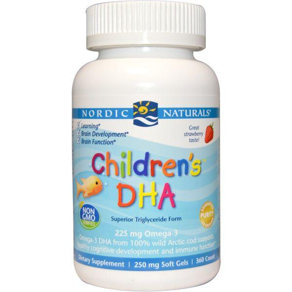 Children's DHA Omega3 225mg Hộp 180 Viên Của Mỹ