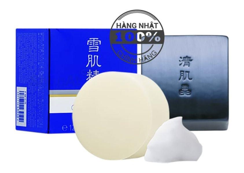 Xà Phòng Rửa Mặt Kose Sekkisei Facial Essence Soap