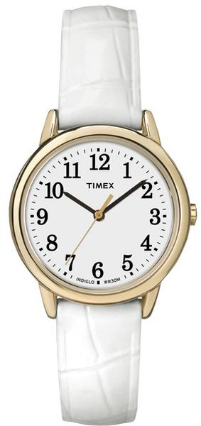 Đồng Hồ Timex TW2P689009J Dây Da Trắng Cho Nữ