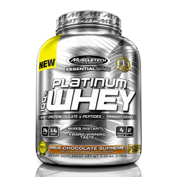 Sữa Tăng Cơ MuscleTech Platinum 100% Whey 5 Lbs (2.3 Kg)