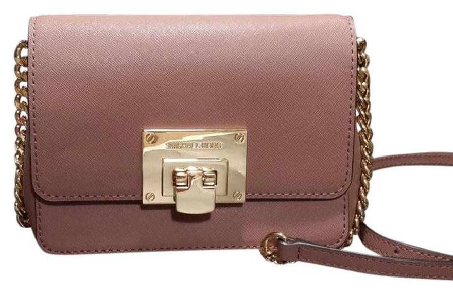 Túi Michael Kors Tina Crossbody Màu Dusty Rose