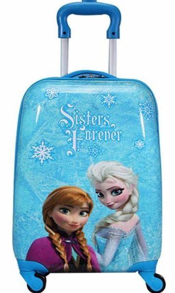 Vali Kéo Trẻ Em Frozen Nữ Hoàng Băng Giá