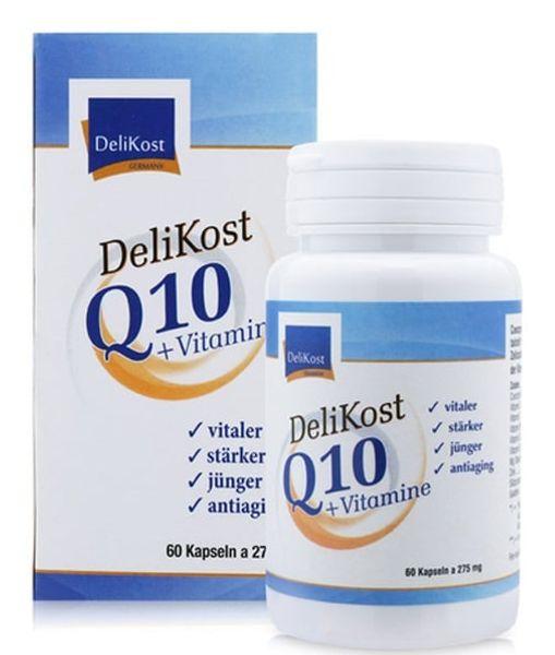 Viên Uống Hỗ Trợ Tim Mạch Delikost Q10 + Vitamine