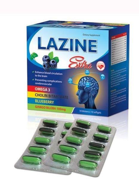 Bổ Huyết Dưỡng Não Lazine Extra