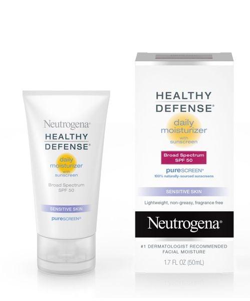 Kem Chống Nắng, Dưỡng Ẩm Neutrogena Healthy Defense SPF50