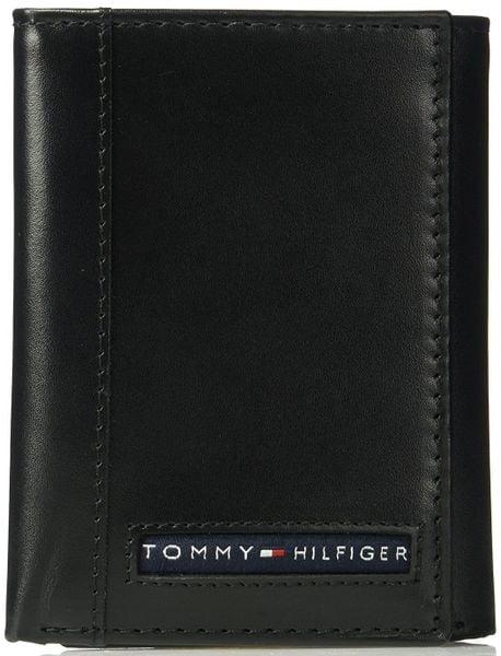 Ví Da Nam Tommy Hilfiger Men's RFID Blocking Trifold Wallet