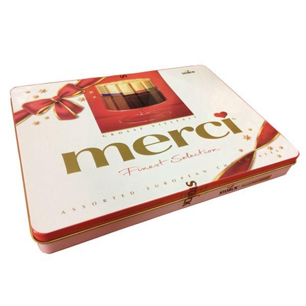 Kẹo Socola Merci Hộp Thiếc 500g Của Đức