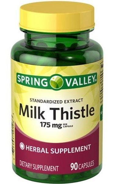 Viên Uống Spring Valley Milk Thistle 175mg Của Mỹ