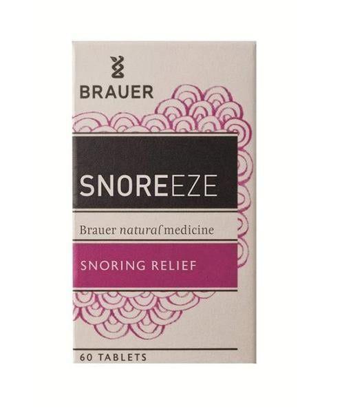 Viên Uống Hỗ Trợ Điều Trị Ngủ Ngáy Brauer Snoreeze 60 Viên