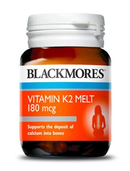Vitamin K2 Blackmores 180mcg Hộp 30 Viên Tan Của Úc