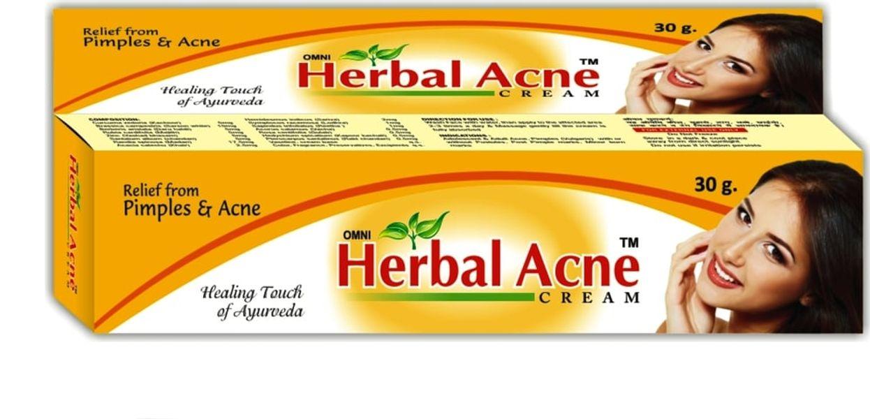 Kem Trị Mụn Thảo Dược Omni Herbal Acne Hộp 30g