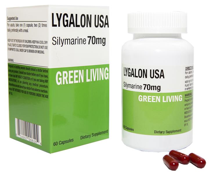 Viên Uống Giải Độc Gan Green Living Lygalon