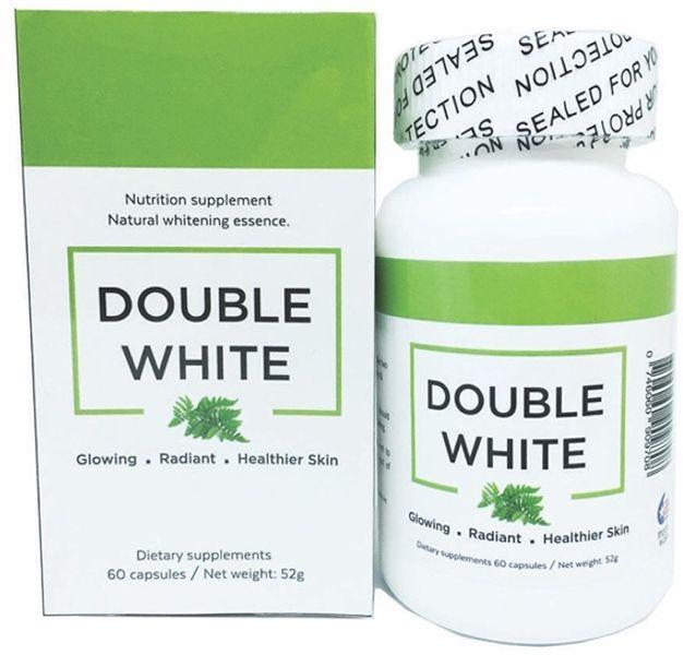 Double White - Viên Uống Trắng Da, Hố Trợ Trị Nám