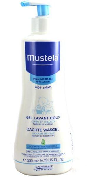 Sữa Tắm Mustela Của Pháp 2 Trong 1 Cho Bé Từ Sơ Sinh